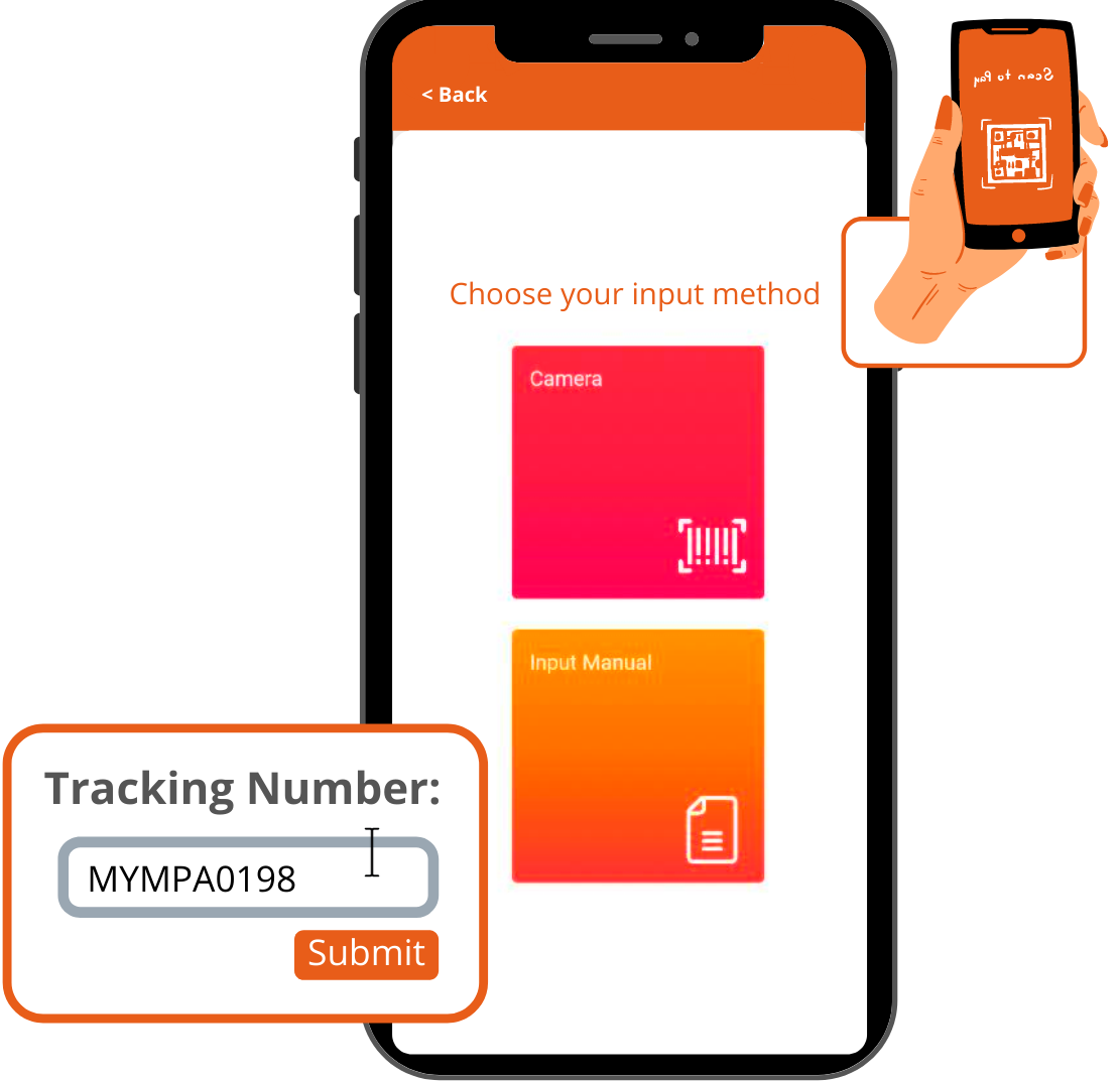 payrecon smart scan mobile app for multichannel e-commerce 2