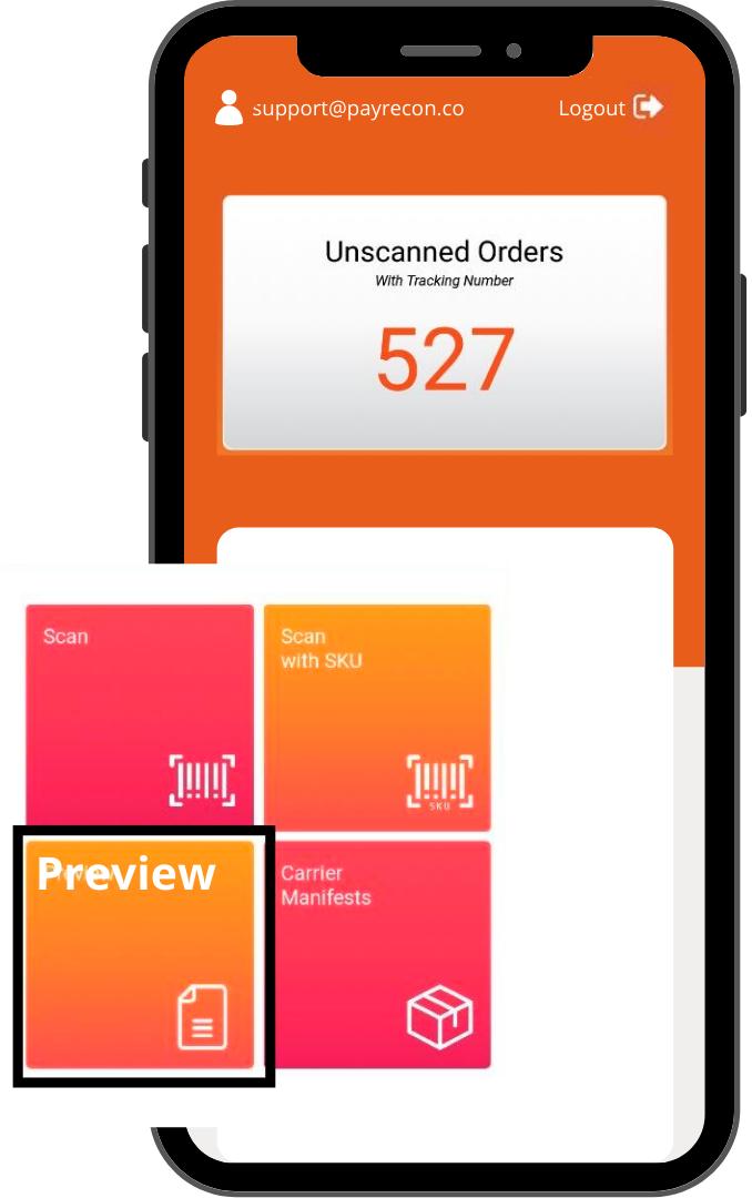payrecon smart scan mobile app for multichannel e-commerce 6