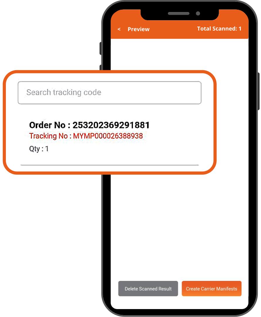 payrecon smart scan mobile app for multichannel e-commerce 7