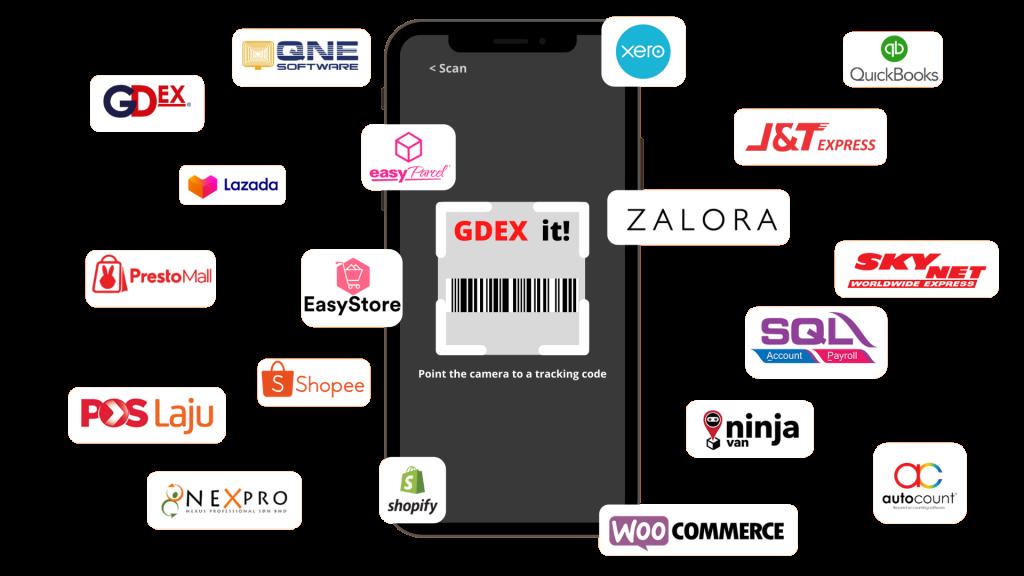 payrecon smart scan mobile app for parcel